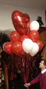 Helium in Luftballons