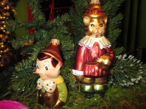 Pinoccio und der gestiefelte Kater