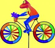 Frosch auf Fahrrad 105 cm x 50 cm € 39,95