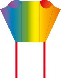 Trotz seiner Größe findet dieser witzige Sleddy in einer mitgelieferten Reißverschlusstasche von nur 7 cm Durchmesser spielend Platz. Breite: 43 cm Höhe: 33 cm Segel: Nylon inkl. Schnur: Baumwolle 3 kp, 20 m auf Griff Wind (Bft.): 2-5 (6-38 km/h, 4-24 mph) Alter: ab 5 Jahre € 5,95